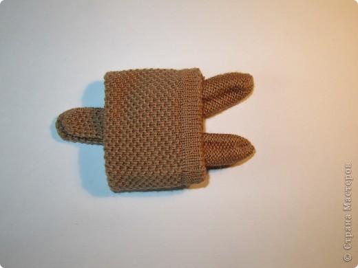 Игрушка, Мастер-класс,  Шитьё, : Собачка из перчаток Материал бросовый . Фото 7
