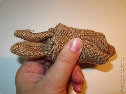 Игрушка, Мастер-класс,  Шитьё, : Собачка из перчаток Материал бросовый . Фото 8
