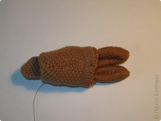 Игрушка, Мастер-класс,  Шитьё, : Собачка из перчаток Материал бросовый . Фото 9