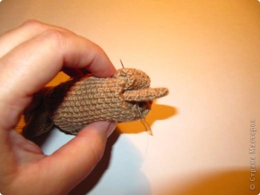 Игрушка, Мастер-класс,  Шитьё, : Собачка из перчаток Материал бросовый . Фото 10