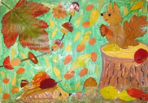 Поделки из листьев для 1 класса своими