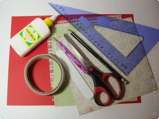 Как сделать из бумаги и картона и клея и ножниц