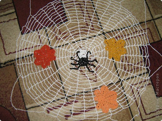 схема вязание паутинка крючком