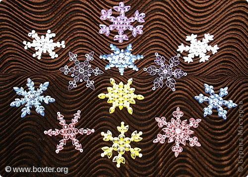 Снежинки оригами презентация