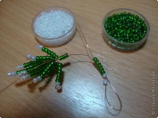 Mester osztály, a kézművesség, a termék Peremezés: MC - Winter Romance gyöngyök, Gipsz New Year.  Fotó 3