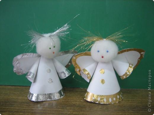 Сделать ангелочка своими руками для детского сада