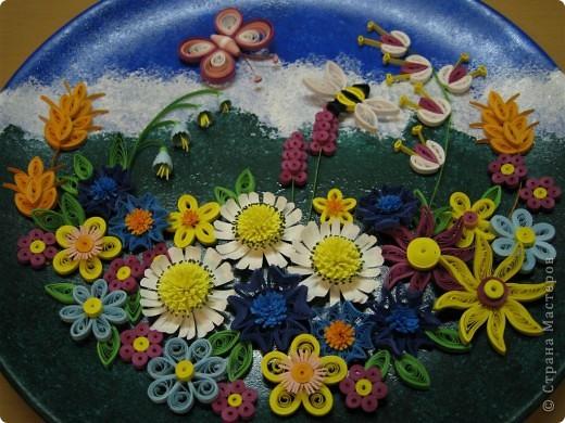 Квиллинг: Полевые цветы Бумага. Фото 1