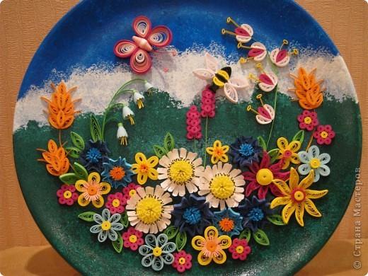 Квиллинг: Полевые цветы Бумага. Фото 3
