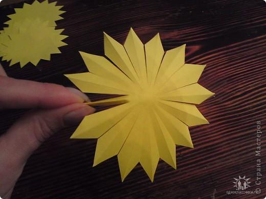 Как из бумаги сделать астру из
