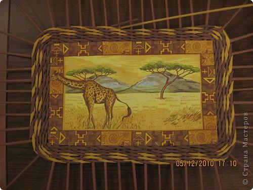 Мастер-класс,  Плетение, : Плетение квадратной (прямоугольной )корзинки Бумага газетная . Фото 33