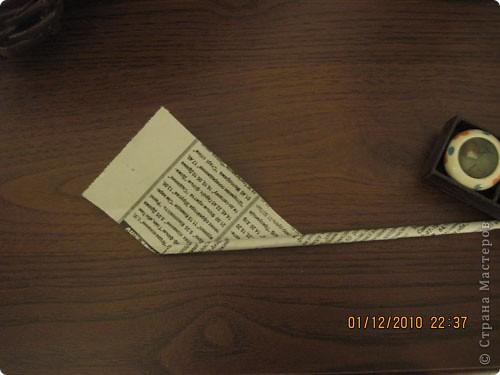 Мастер-класс,  Плетение, : Как я кручу и  крашу трубочки. Бумага газетная, Краска . Фото 7