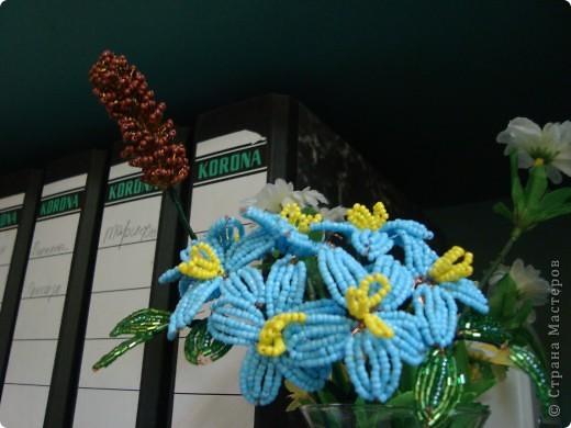 Поделка, изделие, Бисероплетение, : цветы Бисер День семьи, .  Фото 3.