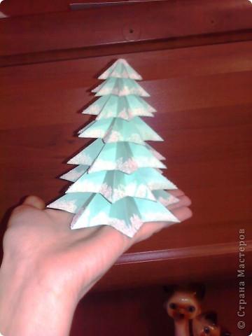 Как сделать макет елки фото
