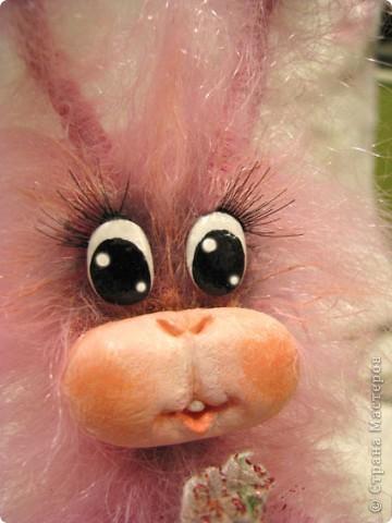 Игрушка, Мастер-класс,  : Лавандовый зайка Краска, Нитки, Проволока Новый год, . Фото 7