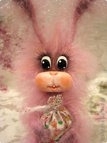 Игрушка, Мастер-класс,  : Лавандовый зайка Краска, Нитки, Проволока Новый год, . Фото 13