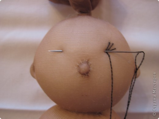 Куклы, Мастер-класс Шитьё: Радужные пупсы Капрон, Тесьма. Фото 21