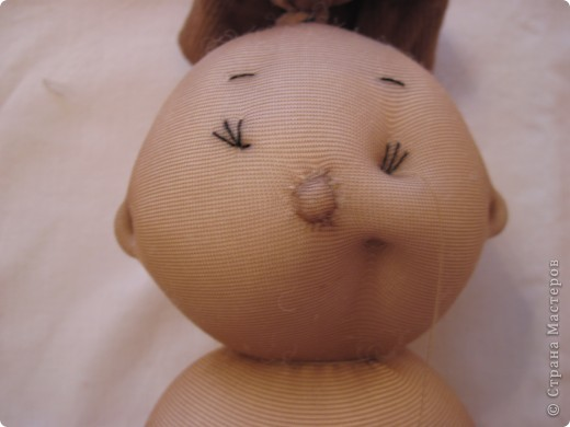Куклы, Мастер-класс Шитьё: Радужные пупсы Капрон, Тесьма. Фото 24