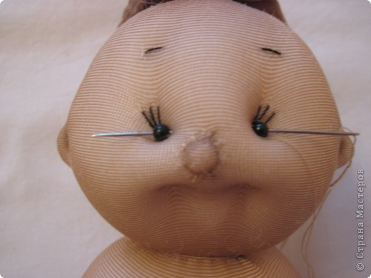 Куклы, Мастер-класс Шитьё: Радужные пупсы Капрон, Тесьма. Фото 27