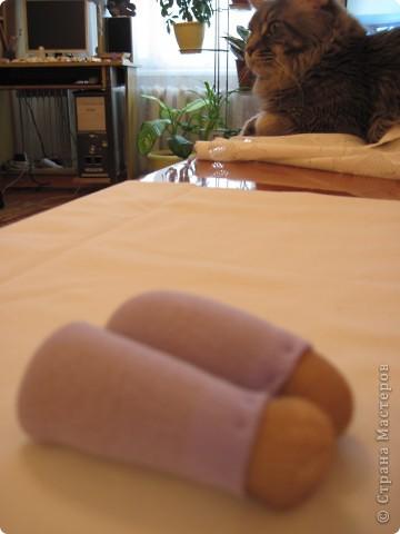 Куклы, Мастер-класс Шитьё: Радужные пупсы Капрон, Тесьма. Фото 42
