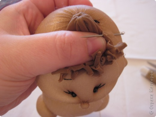 Мастер-класс Шитьё: Радужные пупсы Капрон, Тесьма. Фото 57