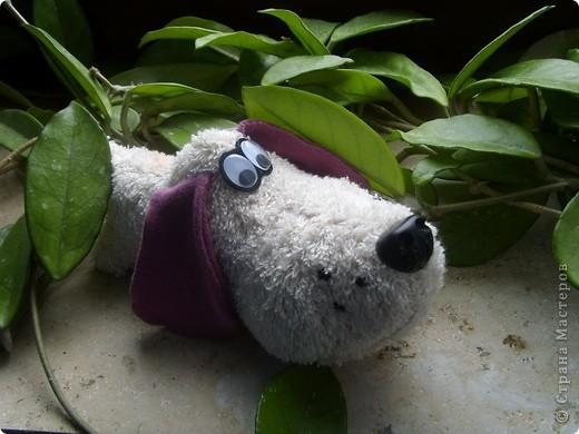 Игрушка Шитьё: Барбосик Ткань. Фото 1