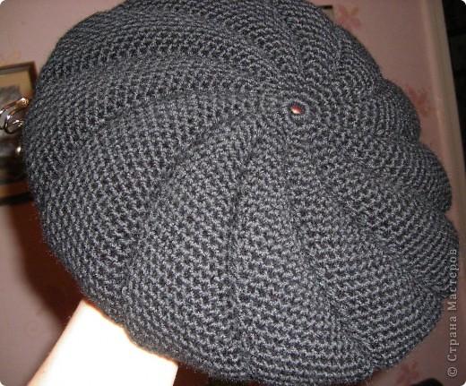 вязание зимних беретов для женщин.