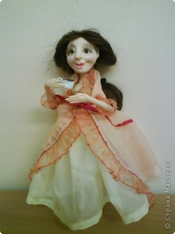 Кукла изготовлена из материала ФИМО. Рост куклы25 см.. Фото 11