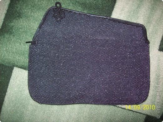 Поделка, изделие Вязание крючком: вязание бисером...клатч Пряжа.