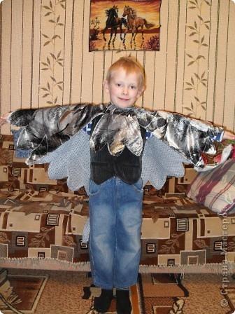 Детский костюм голубя своими руками
