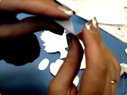 Мастер-класс,  Моделирование, : Котенок Бумага Новый год, . Фото 5