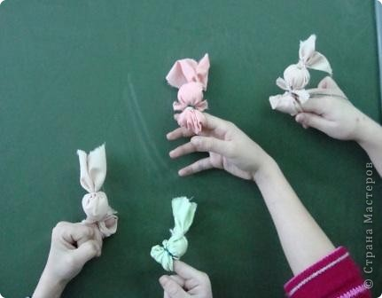 Игрушка: делаем игрушки из лоскутков...  Ткань.  Фото 10.