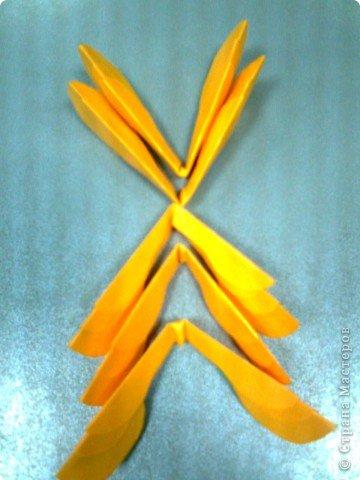 Мастер-класс,  Оригами, : Роза  Бумага 8 марта, . Фото 5