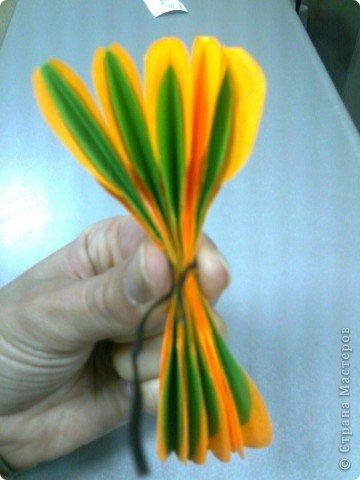 Мастер-класс,  Оригами, : Роза  Бумага 8 марта, . Фото 6