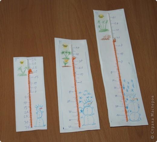 """Как сделать термометр своими руками в школу из картона фото - Гостиница """"Меркит"""""""