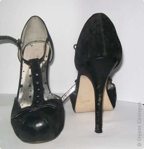 хорошие туфли только вот незадача, поцарапались каблуки об офисное кресло (думаю это не только у меня происходит). Фото 2