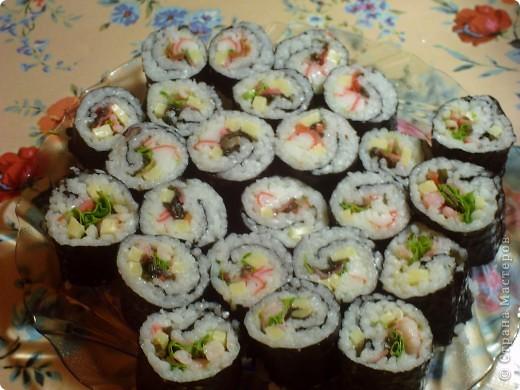 Кулинария, Мастер-класс Рецепт кулинарный: Суши- Роллы (МК) Продукты пищевые. Фото 9