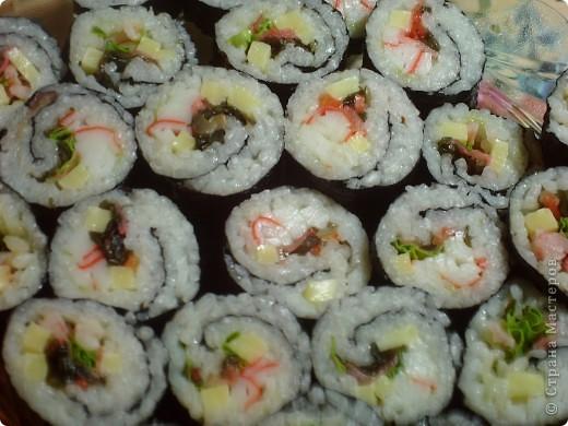 Кулинария, Мастер-класс Рецепт кулинарный: Суши- Роллы (МК) Продукты пищевые. Фото 1