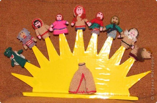 Подставка для кукольного театра би-ба-бо своими руками 67