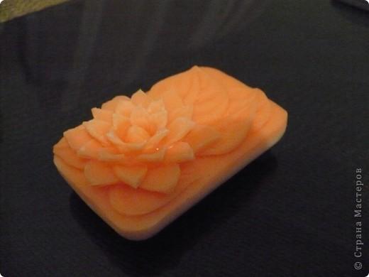 Декор предметов Карвинг: карвинг по мылу Мыло. Фото 2
