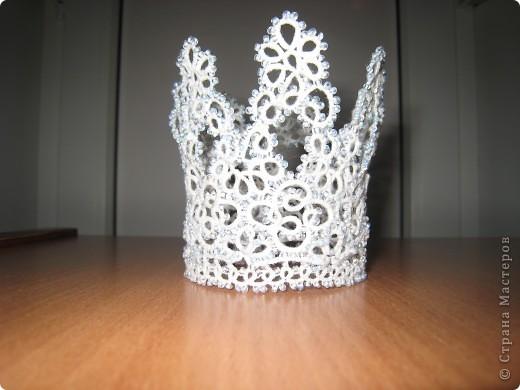 Украшение Фриволите: Корона