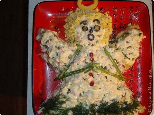Салаты на крестины ребенка рецепты с фото