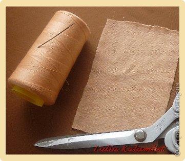 Мастер-класс Шитьё: Пупс из лоскутка. Мой мастер класс.  Ткань. Фото 2