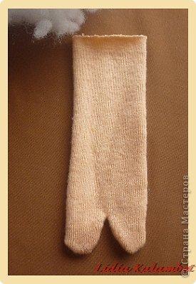 Мастер-класс Шитьё: Пупс из лоскутка. Мой мастер класс.  Ткань. Фото 4