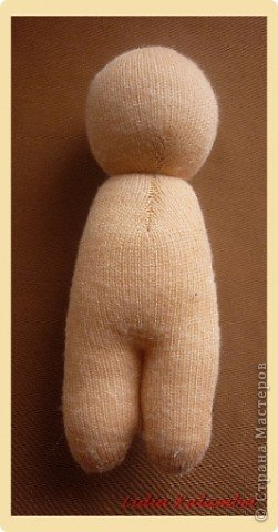 Мастер-класс Шитьё: Пупс из лоскутка. Мой мастер класс.  Ткань. Фото 7