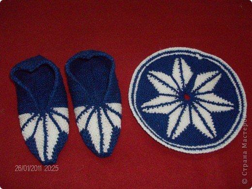 Поделка, изделие Вязание крючком: Цветы и тут и там Пряжа. Фото 1