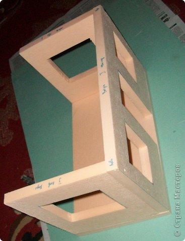 Мастер-класс, Проект,  Конструктор, : Домик в детский сад Пенопласт . Фото 10
