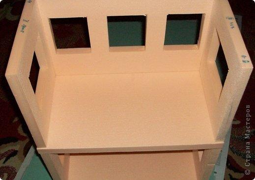 Мастер-класс, Проект,  Конструктор, : Домик в детский сад Пенопласт . Фото 12
