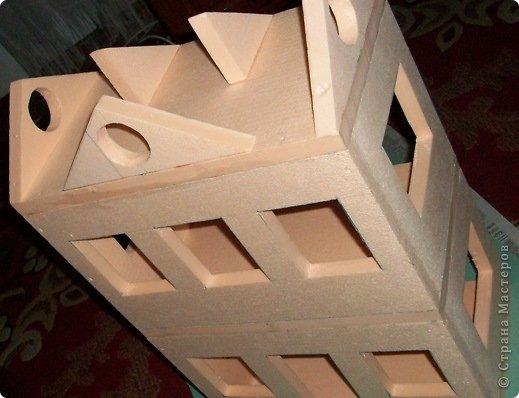 Мастер-класс, Проект,  Конструктор, : Домик в детский сад Пенопласт . Фото 13