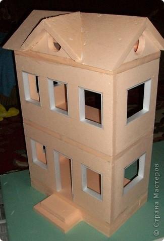Мастер-класс, Проект,  Конструктор, : Домик в детский сад Пенопласт . Фото 19