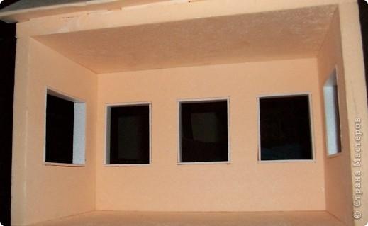 Мастер-класс, Проект,  Конструктор, : Домик в детский сад Пенопласт . Фото 20